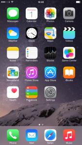Первый экран в iOS