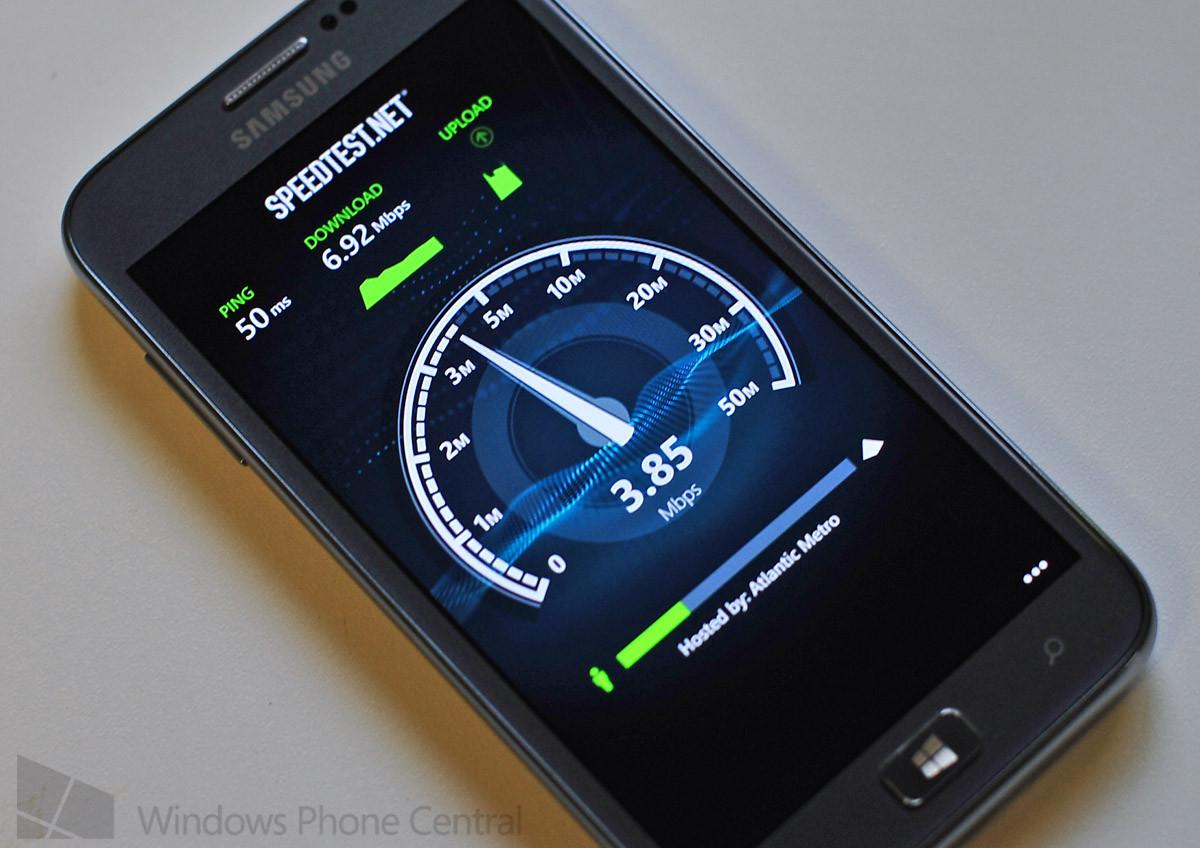 Измерение скорости Интернета с помощью онлайн-сервиса speedtest.net1