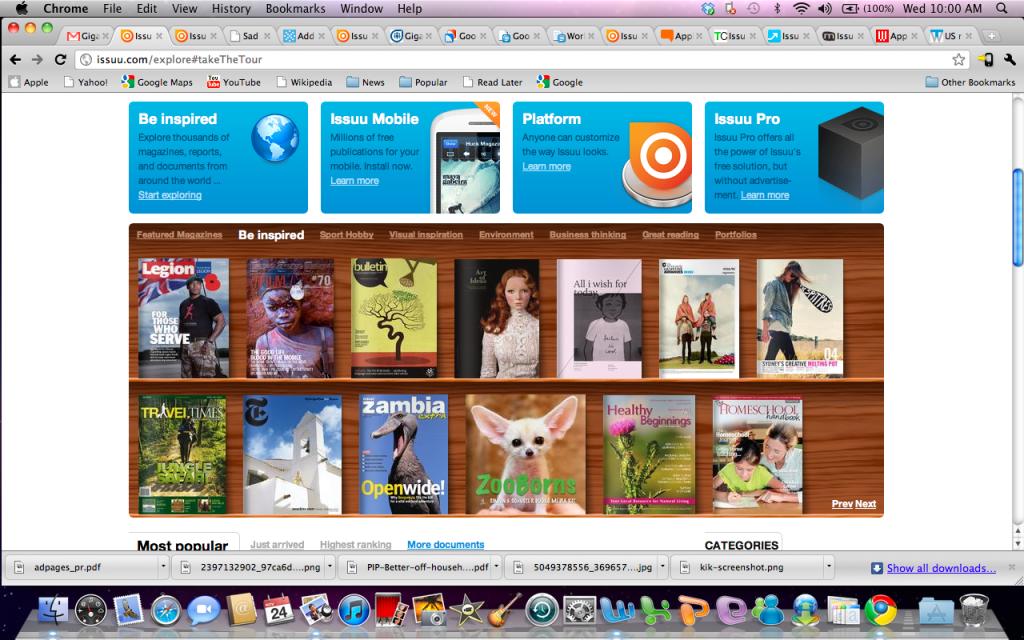 Issuu – ваша PDF-библиотека онлайн